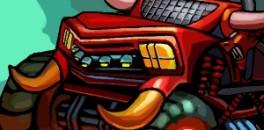 Играть Безумное соревнование грузовиков онлайн