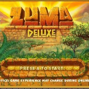 Играть Зума Делюкс онлайн