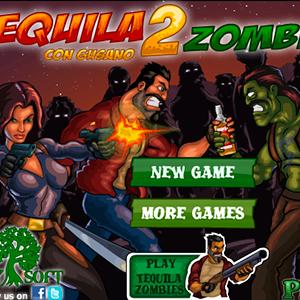 Играть Текила & Зомби 2 онлайн