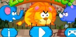 Играть Паника в зоопарке онлайн