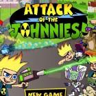 Играть Атака Джонников онлайн