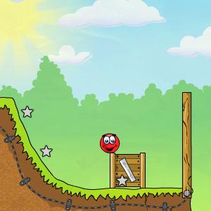 Играть Красный шар 3 онлайн