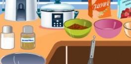 Играть Кулинария: Пончики с яблоками онлайн