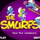 Играть Найди числа со Смурфиками онлайн