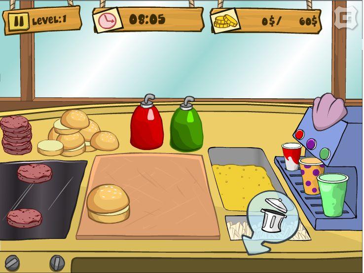 флеш игры суши бар