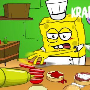 Игры готовка гамбургеров губка боб сундучок lego milky way