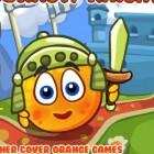 Играть Спрячь апельсин. Рыцари онлайн