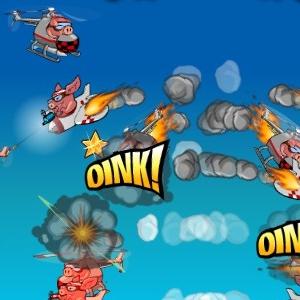 Играть Свиньи-камикадзе онлайн