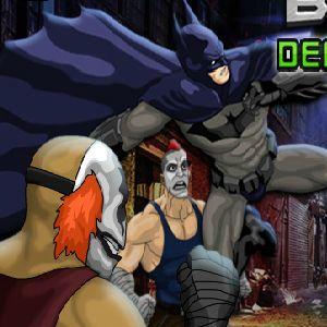 Играть Бэтмен драки онлайн