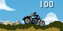 Играть Бэтмен на Мотоцикле онлайн
