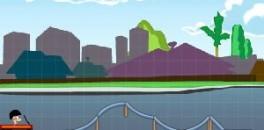 Играть Финис и Ферб строят трамплин онлайн