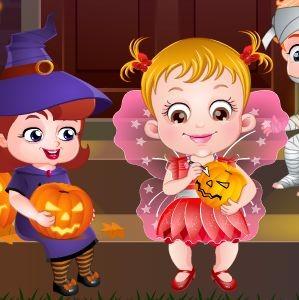 Играть Хейзел Хэллоуин онлайн