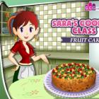 Играть Кухня Сары Фруктовый торт онлайн