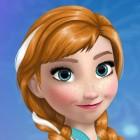 Играть Холодное Сердце: Макияж Анны онлайн