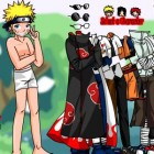 Играть Одевалка Наруто онлайн