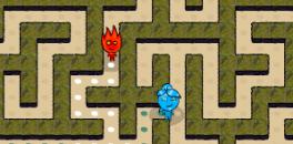 Играть Огонь и Вода: Лабиринт онлайн