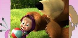 Играть Пазл Маша и Медведь онлайн
