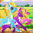 Играть Пони гонки онлайн