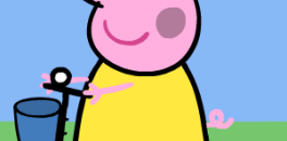 Играть Раскрась Пеппу онлайн