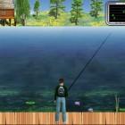 Играть Рыбалка на Озере: Зеленая лагуна онлайн
