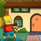 Играть Симпсон с рогаткой онлайн