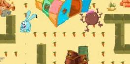 Играть Смешарики Догонялки онлайн