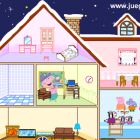 Играть Свинка Пеппа Кукольный Дом онлайн