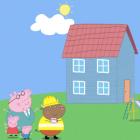 Играть Свинка Пеппа: Новый дом онлайн