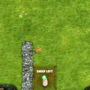 Играть Баранчик Шон: Загони овец онлайн