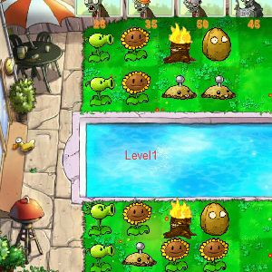 игра зомби онлайн против растений