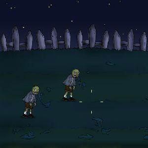 Играть Зомби садовое побоище онлайн