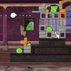 Играть Angry Birds bad pig онлайн