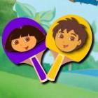 Играть Дора Настольный Теннис онлайн