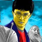 Играть Гарри Поттер Раскраска онлайн