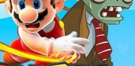 Играть Марио против зомби онлайн