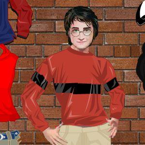 Играть Одень Гарри Поттера онлайн