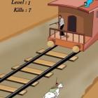 Играть Перестрелка на Поезде онлайн