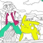 Igra Raskraski Pokemon