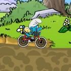 Играть Смурфики на велосипедах онлайн