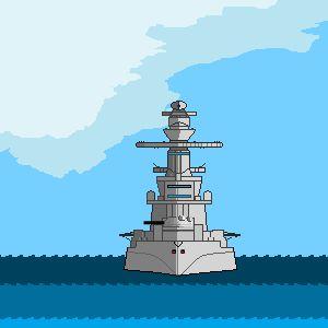 Играть Сражение двух кораблей онлайн