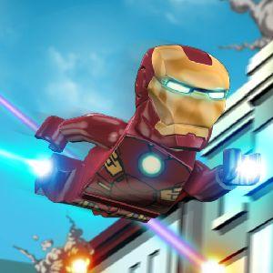 Играть Железный Человек Лего онлайн