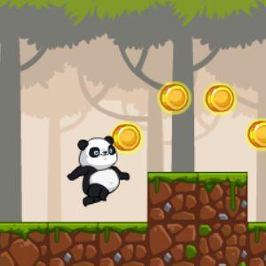 Играть Беги Панда беги онлайн