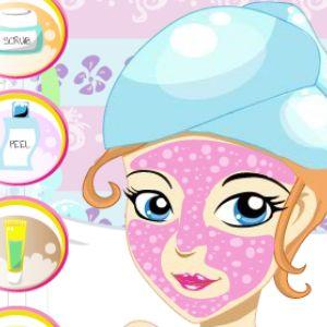 Играть Детский макияж онлайн