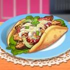 Играть Кухня Сары: Гирос онлайн