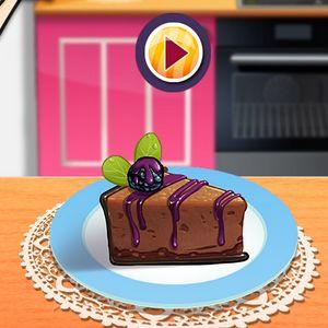 Играть Кухня Сары: чизкейк онлайн