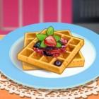Играть Кухня Сары: французские вафли онлайн