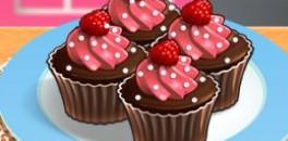 Играть Кухня Сары: кексы онлайн