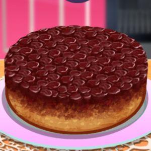 Играть Кухня Сары: вишневый торт онлайн