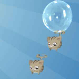 Играть Летающий котенок онлайн