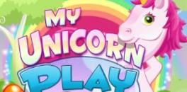 Играть Мой единорог онлайн